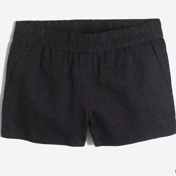 ab7818d90b3ac J. Crew Factory Shorts   3 Floral Jacquard Boardwalk Pullon Short ...